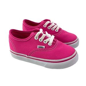 New VANS Classic Pink Laced Up Toddler size 6